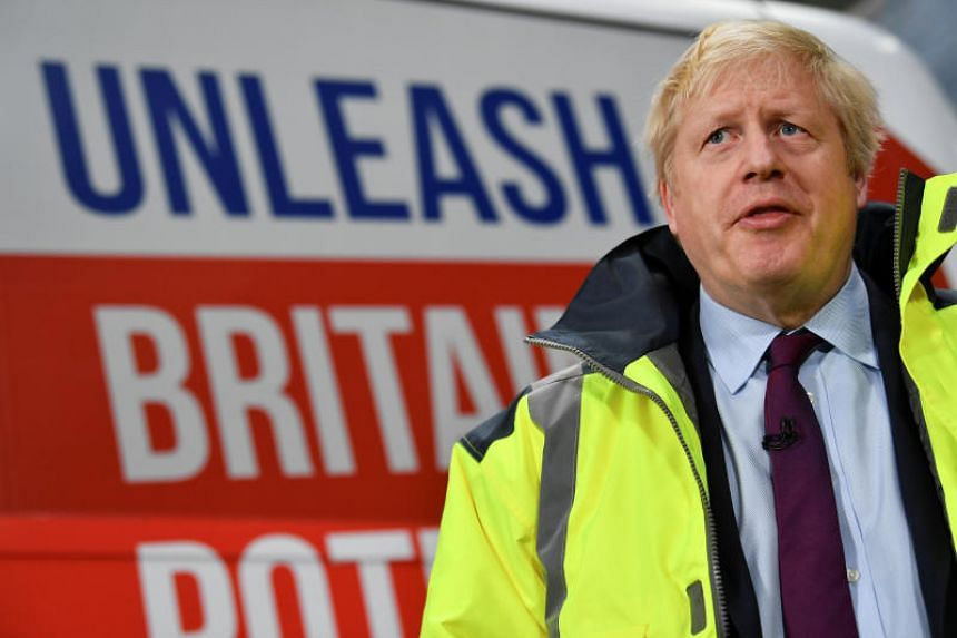 British Prime Minister Boris Johnson was shown a picture of the child during an interview while on the campaign trail.