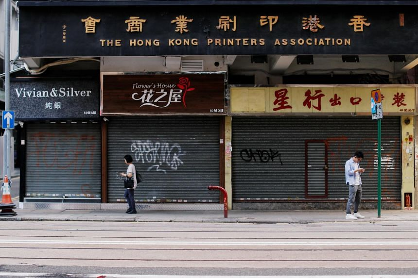 Hong Kong's economy has slid into a recession and the pain has rippled across the retail, tourism and hospitality sectors.