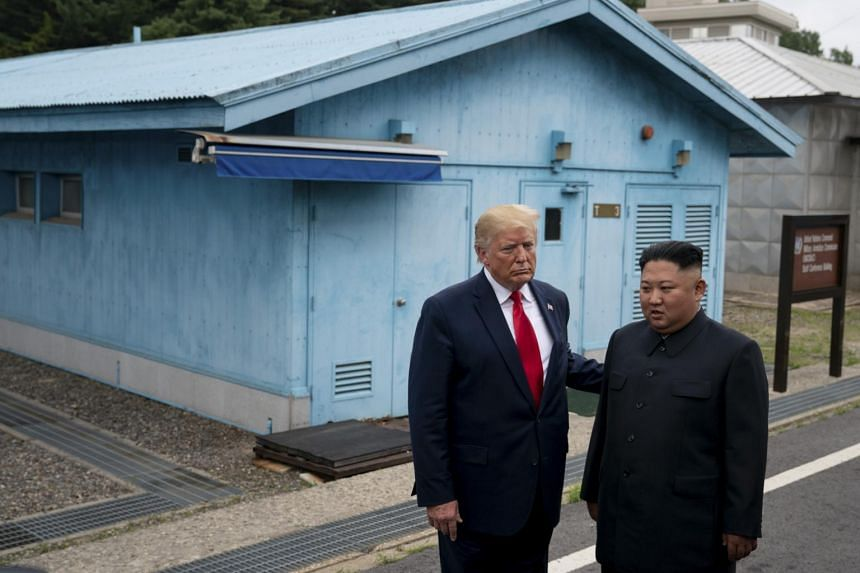 The US action appeared to be aimed at preserving a tenuous diplomatic opening between US President Donald Trump and North Korean leader Kim Jong Un.