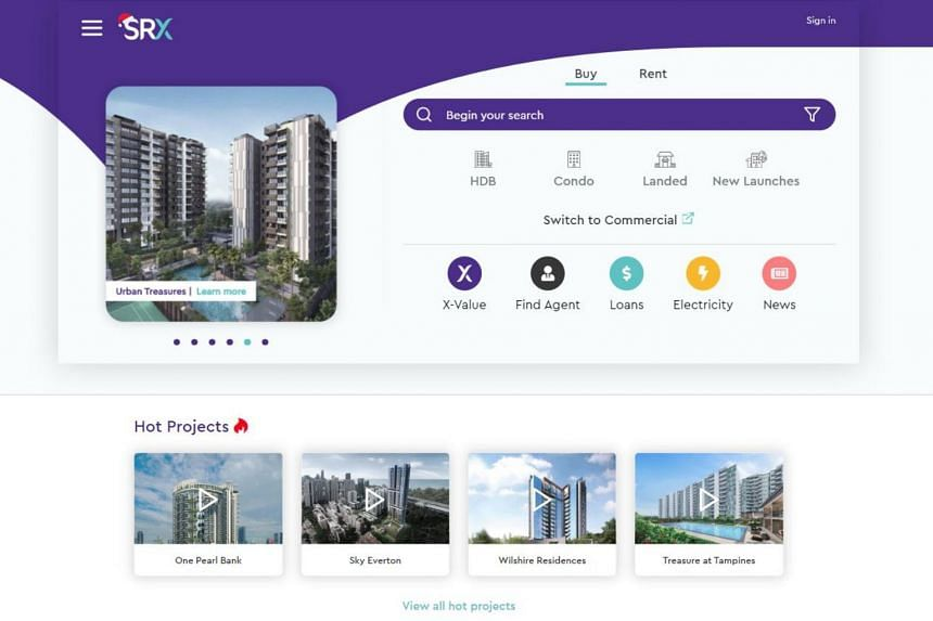 StreetSine operates SRX Property, a digital platform that offers real estate-related services, such as property listings.