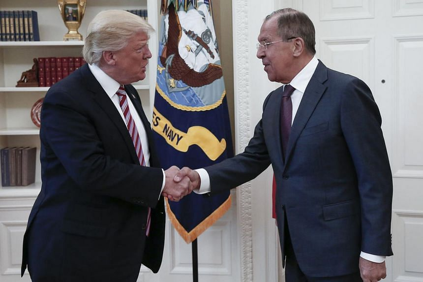 Arms control on tap for Trump, Pompeo's meeting with Lavrov