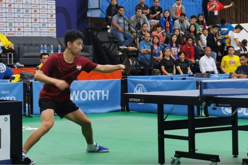 Under-18 world No. 1 Koen Pang beat Thailand's world No. 192 Padasak Tanviriyavechakul 4-3 at the Subic Bay Exhibition & Convention Center.