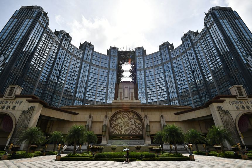 The exterior of Studio City Macau on July 6, 2019. Macau casinos are poised for the first decline in annual gaming revenue since 2016.