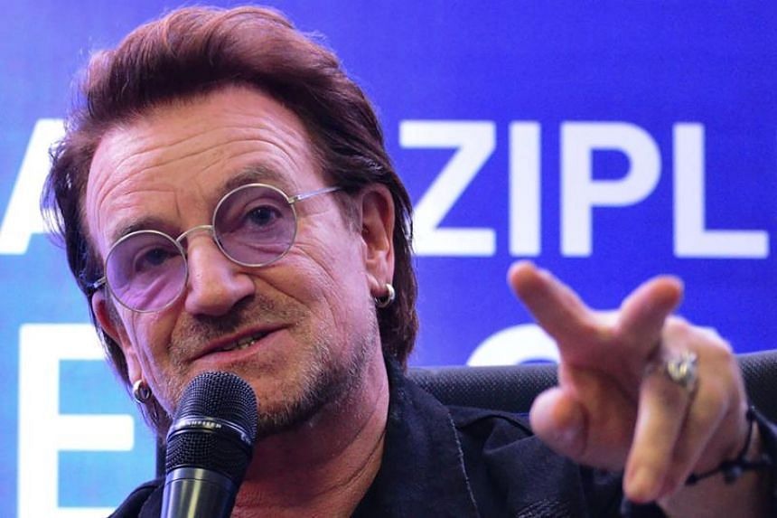 """Bono, a long-time member of Amnesty International and a critic of Duterte's drug war, said human rights are """"critical"""" which he takes """"very seriously""""."""