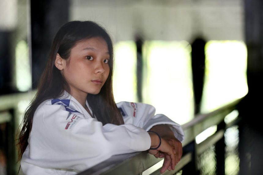 Constance Lien (above) defeated Vietnam's Nguyen Ngoc Tu to clinch the gold on her SEA Games debut.