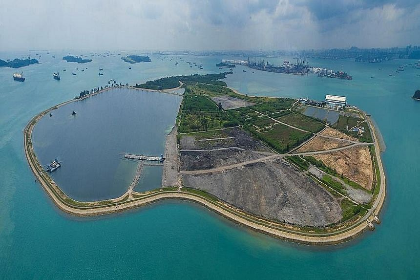 The 350ha Semakau Landfill, which was created from the sea space between two offshore islands about 8km south of mainland Singapore, is now home to green spaces and about 80 species of birds, including the white bellied sea eagle and the great-billed hero