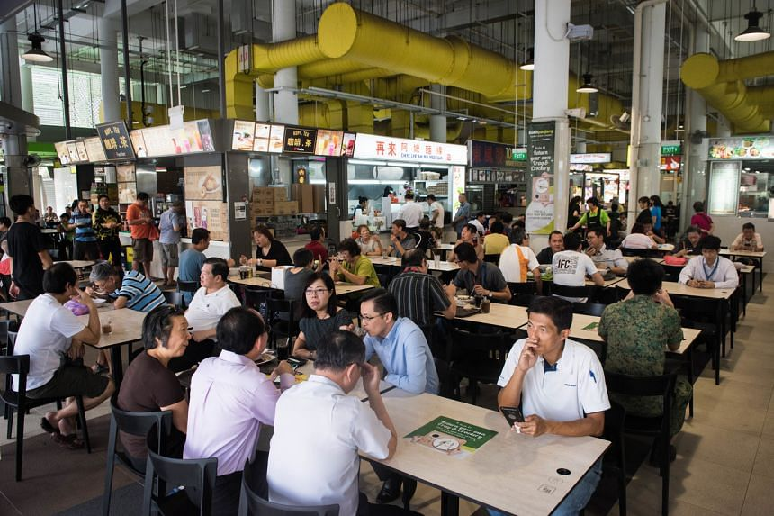 There are currently no hawker centres in Choa Chu Kang town, with the closest being Bukit Panjang Hawker Centre (pictured).