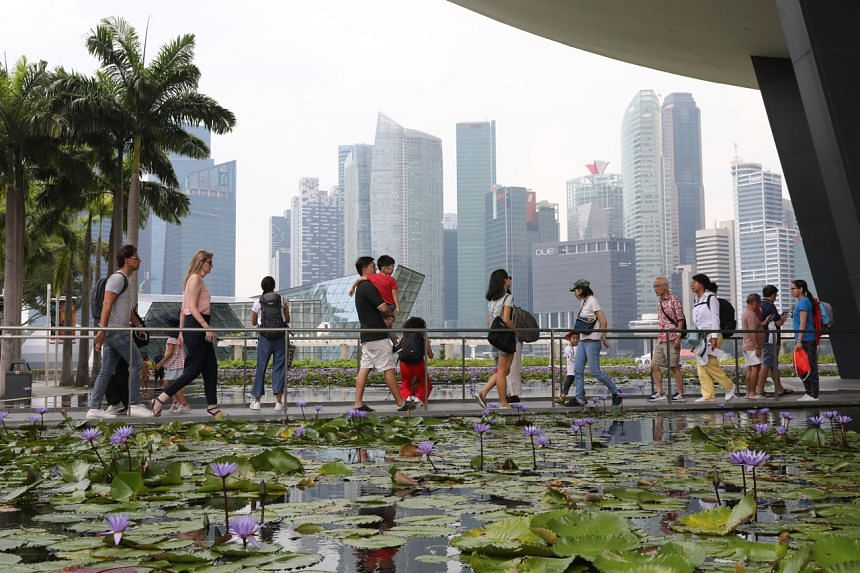 A record five million visitors came to the island in the third quarter, led by tourists from Greater China.
