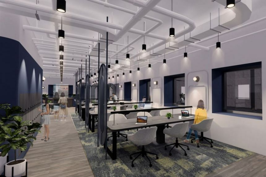 The Singapore co-working space is expected to open in the second quarter of 2020 at OCBC Centre East, and will occupy four storeys of space spanning 45,000 sq ft.