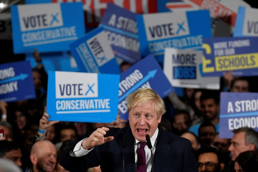 Prime Minister Boris Johnson's current Conservative minority government hopes to secure a majority that would let him pull Britain out of the European Union by the end of next month.