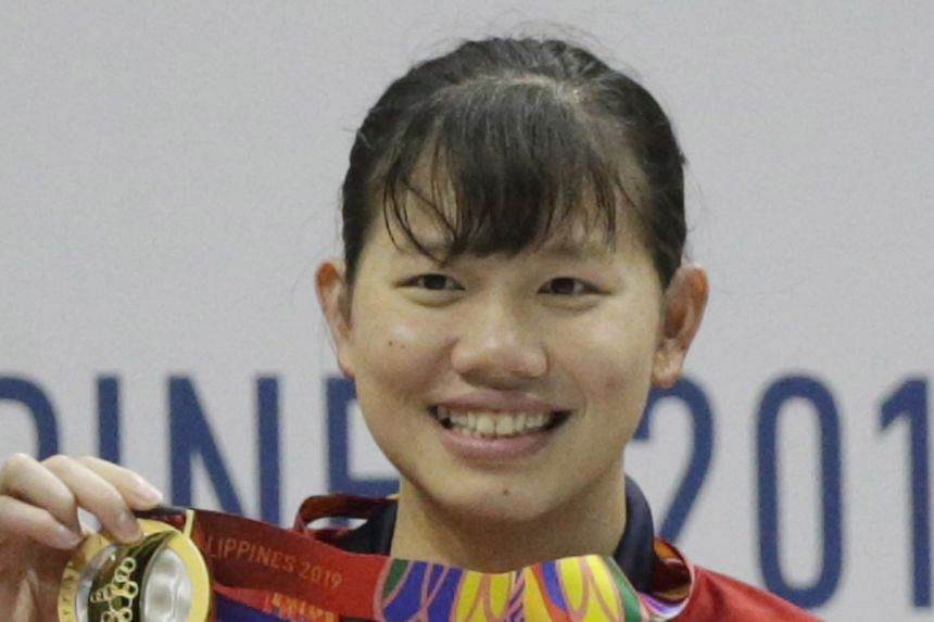 Nguyen Thi Anh Vien has 25 SEA Games golds after winning the 400m individual medley to finish her campaign.