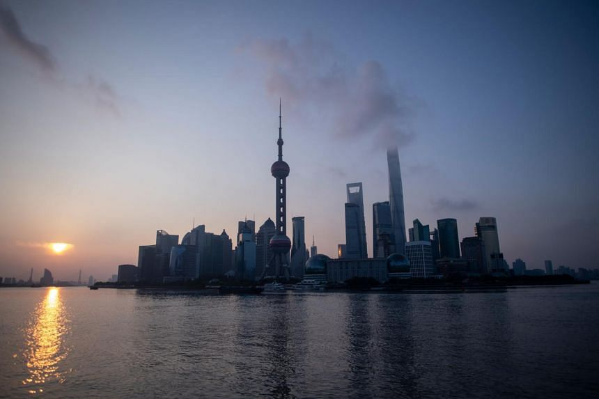 Buildings lining the skyline of Shanghai. Chinese companies are looking to new markets, adapting supply chains, sourcing home-grown parts and shifting to domestic suppliers.