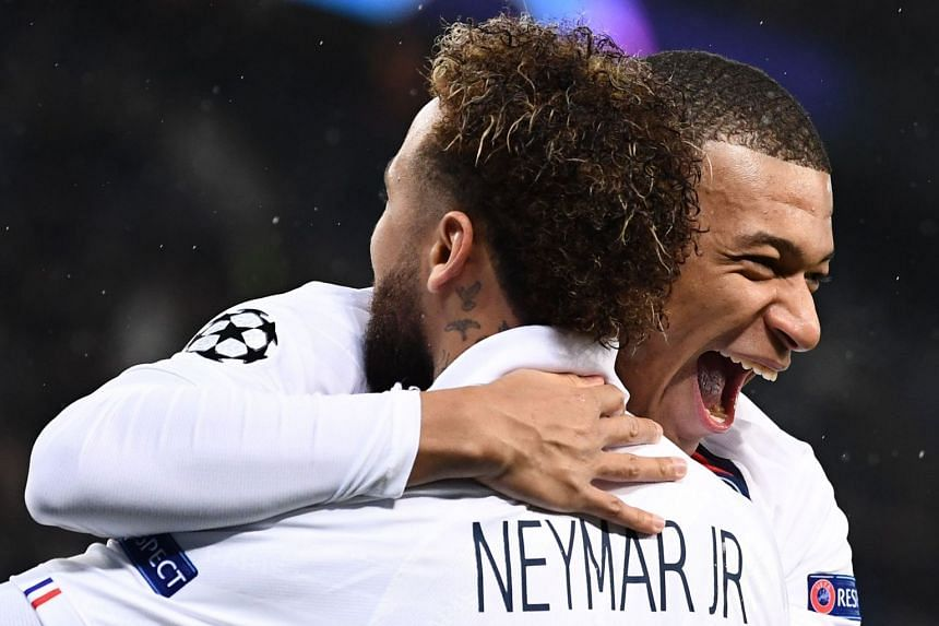 Mbappe and Neymar dazzle as PSG thrash Galatasaray