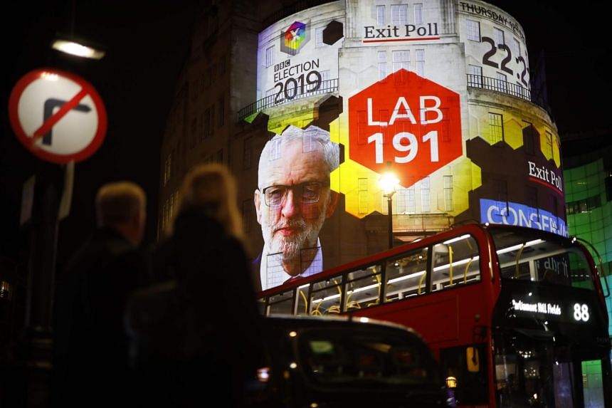 Labour Leader Jeremy Corbyn has faced calls to quit following the results of the exit polls.