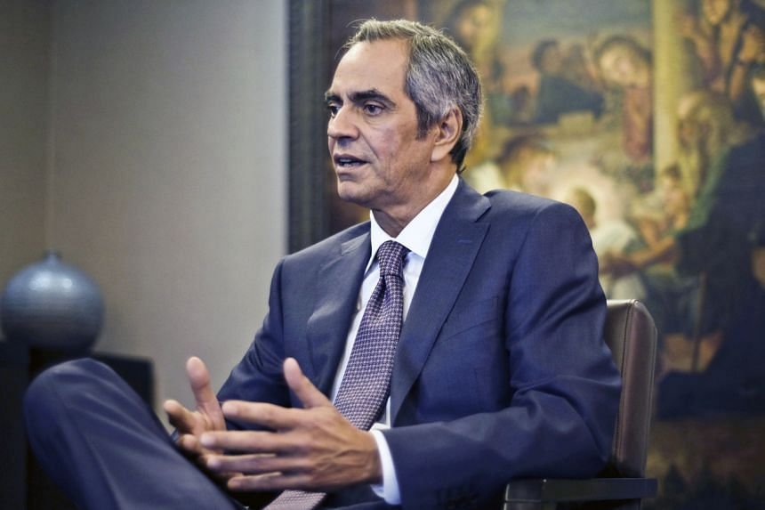 A photo taken on Sept 16, 2016, shows billionaire Enrique Razon, chairman of International Container Terminal Services Inc and Bloomberry Resorts Corporation, during an interview in Manila.