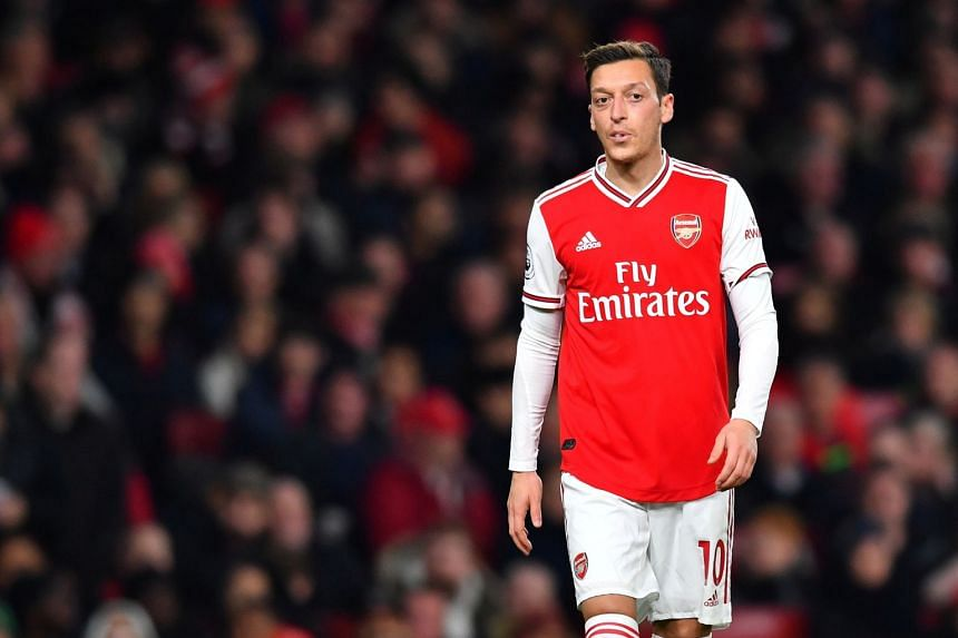 Arsenal's Mesut Ozil 'deceived by fake news' after Uighur criticisms, China says