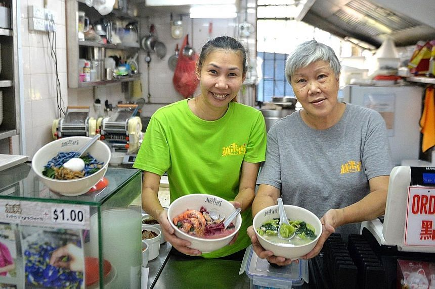 Ms Joy Yeo runs Yue Lai Xiang Delights with her mother, Madam Jessie Lee, who helps out at the stall.
