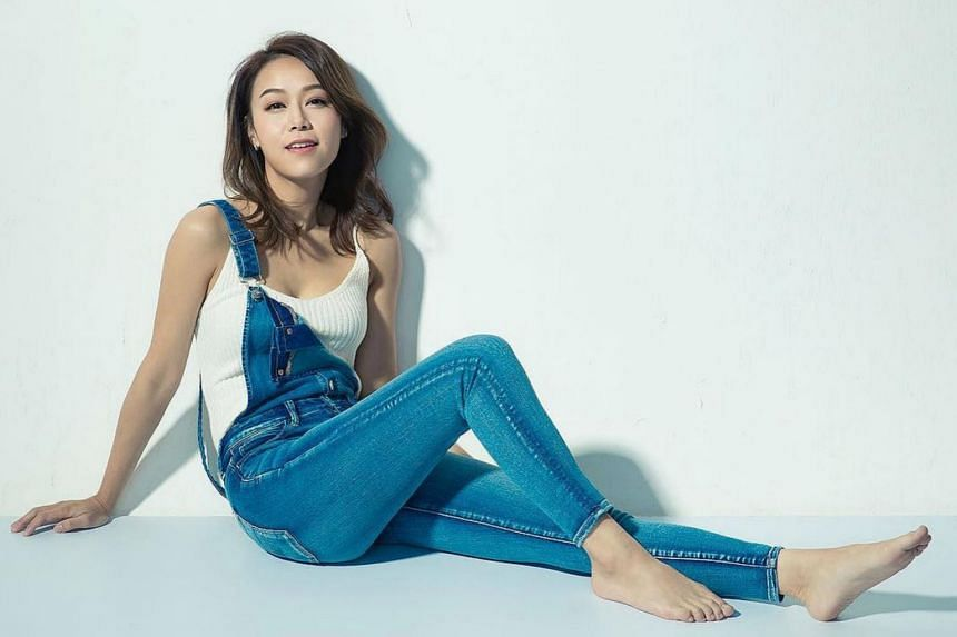 """Jacqueline Wong arrived in Hong Kong on Saturday morning (Dec 14) from the United States and told waiting reporters that she wants to """"move on""""."""