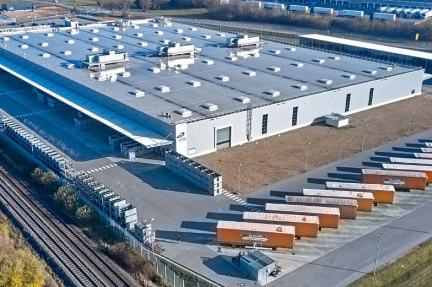 The portfolio comprises 28 logistics assets across Europe, including in Germany.