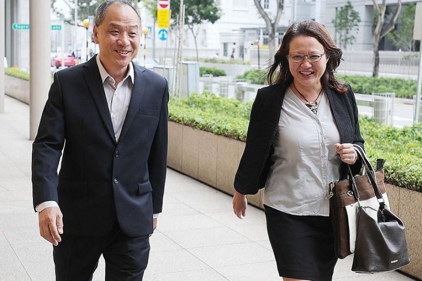 AHTC subsequently said in a statement that Ms Sylvia Lim (right) and Mr Low Thia Khiang will not need to recuse themselves from all financial matters.