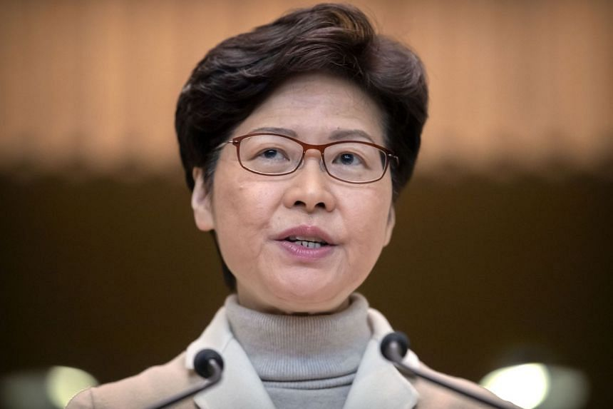 Hong Kong leader Carrie Lam is due to discuss the political and economic situation with Beijing officials during a four-day visit.