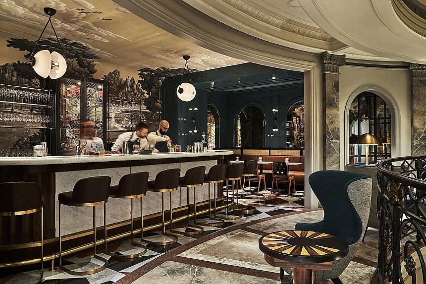 Goodman's (above), the new bar in the Bergdorf Goodman men's store in New York, will have its own app and martini makers. The store's move to attract more shoppers is driven by its president Darcy Penick.