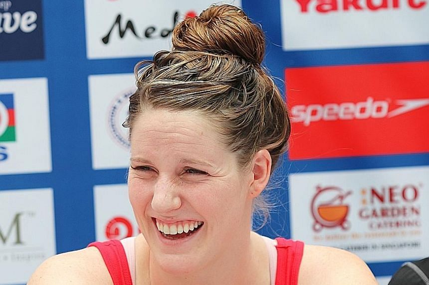 While Missy Franklin retired prematurely last December owing to injury, she wants to make an impact elsewhere.