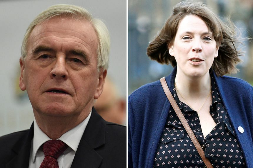 Left: JOHN MCDONNELL: Poised to become a caretaker leader while the party decides how to move forward.  Right: JESS PHILLIPS: Despite sharing many of the same views as Mr Corbyn, she has been a vocal critic of him.