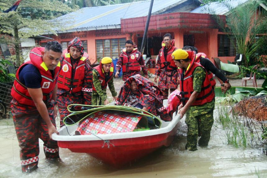 Nationwide, more than 10,000 flood victims have been evacuated as of noon on Dec 16, 2019.