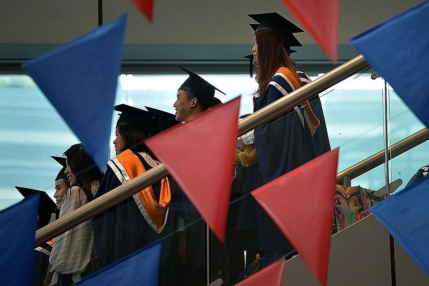 A total of 21,000 undergraduates and 33,000 poly students are expected to benefit from the higher bursaries.