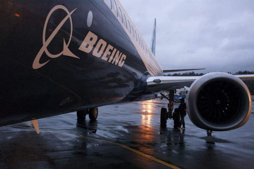 Boeing's credit score lowered due to 737 Max uncertainty