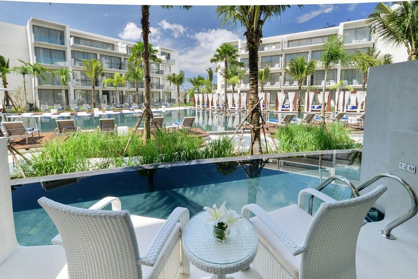 Dream Phuket Hotel & Spa, Castlewood Group's key project. Investors said they were informed last month that Castlewood was winding up and that they had to attend a meeting to appoint a liquidator.