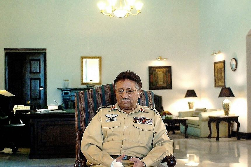 Pakistan's former president Pervez Musharraf can appeal against the judgment. PHOTO: AGENCE FRANCE-PRESSE