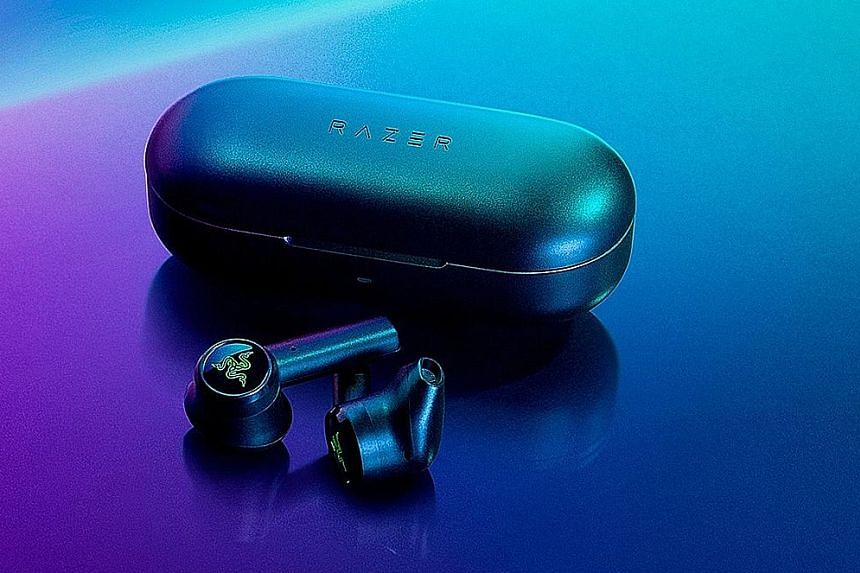 Razer's Hammerhead True Wireless has a battery life of four hours, with an additional 12 hours with the charging case.