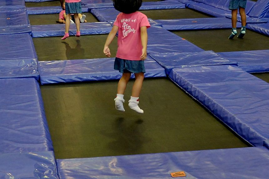 While trampolining may be a fun way to work up a sweat, increasing interest in the activity has also led to a rise in the number of children being injured from trampoline-related falls.