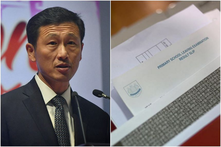 Education Minister Ong Ye Kung said that he will speak on the matter of withholding PSLE result slips when school fees are not paid in Parliament next year.