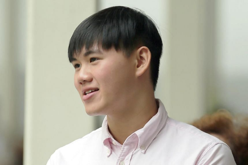 Full-time national serviceman Homen Wong pleaded guilty to operating the drone in a manner that could endanger the safety of persons and property.