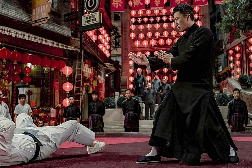 (Clockwise from top) Donnie Yen in Ip Man 4: The Finale; Anthony Hopkins in The Two Popes; Karin Viard in Perfect Nanny; Cats; and Sarah Hyland and Tyler James Williams in The Wedding Year. Daisy Ridley (above) as Rey in Star Wars: The Rise Of Skywal
