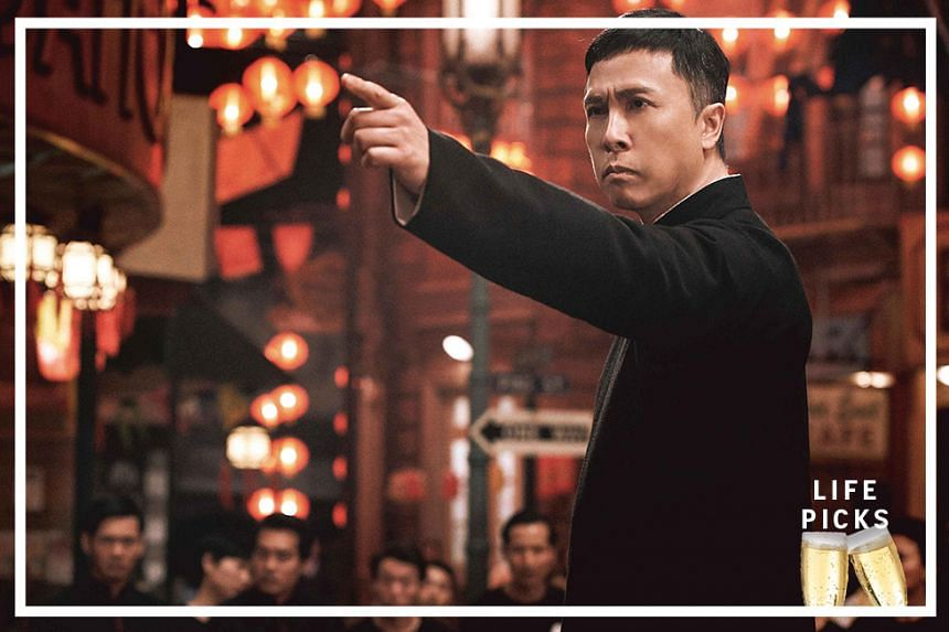 Movie still: Ip Man 4: The Finale starring Donnie Yen