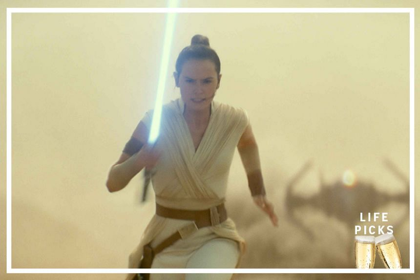 Stills from the movie Star Wars: The Rise Of Skywalker.