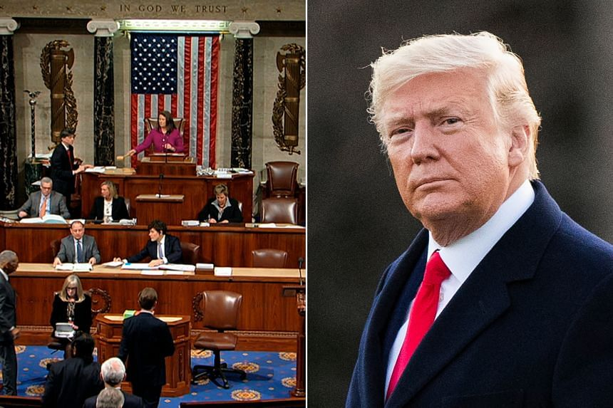 The Democratic-led House voted on two articles of impeachment alleging abuse of power and obstruction to impeach Donald Trump.