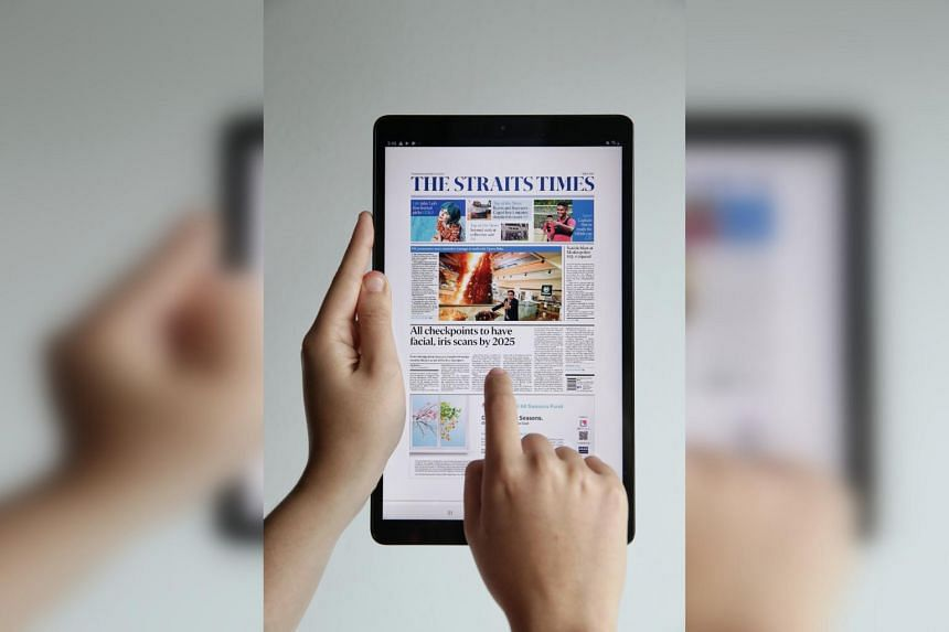 At an introductory offer of only $24.90 per month with a two-year contract, readers will get a subscription to the e-paper as well as the Samsung Tab A 10.1-inch Wi-Fi tablet.