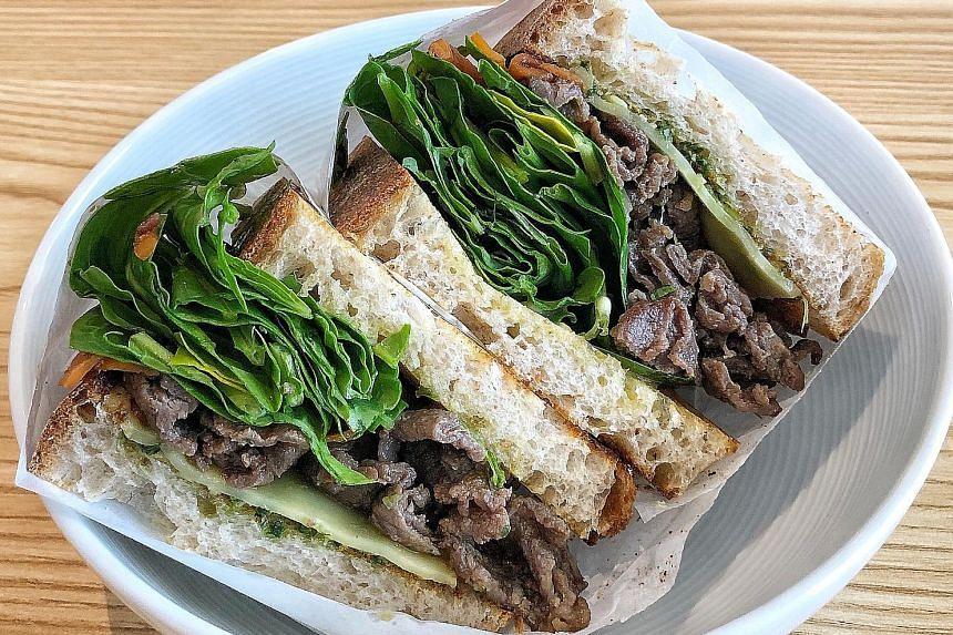 Kong Cafe: Bulgogi Sandwich