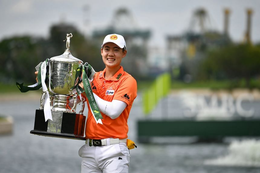 Thailand golfer Jazz Janewattananond captured the SMBC Singapore Open in January in record fashion.