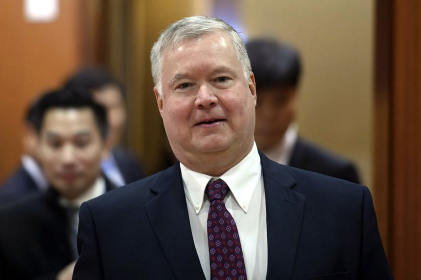 US special envoy for North Korea Stephen Biegun has made stops in Seoul and Tokyo for discussions with counterparts, and is in China for talks with Chinese officials.