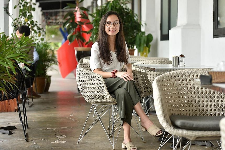 Undergraduate Woo Qiyun kick-started the White Monday movement in Singapore, urging people to buy only what they need and to support businesses in the circular economy, such as thrift stores.