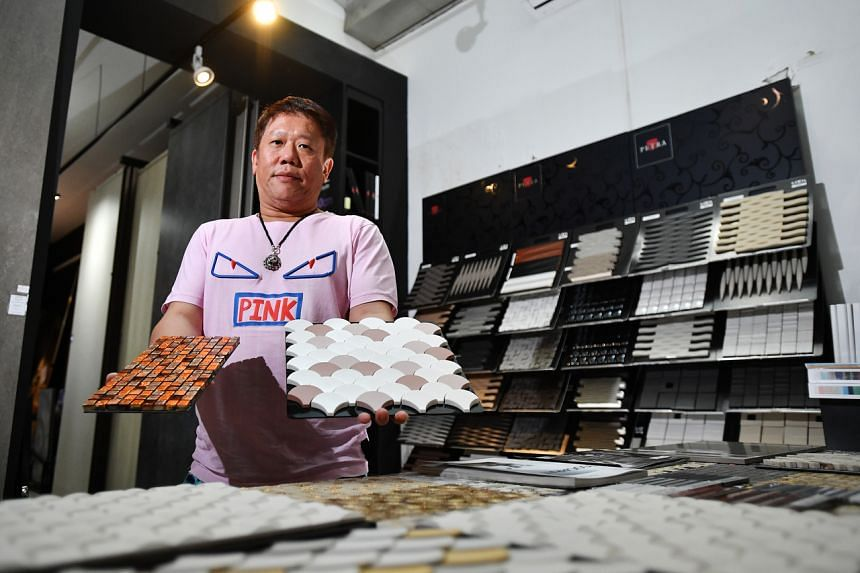 Mr Andy Lim, founder of GF+A Global which imports premium European tiles, said he gives his clients 60-day credit.