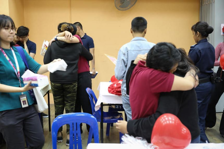 The children and caregivers of 10 mothers in Institution A4, Singapore's only all-women's prison, had been invited to spend three hours together on Dec 14, 2019.