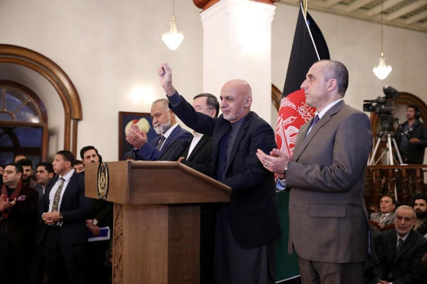 Afghanistan's incumbent President Ashraf Ghani secured 50.64 per cent to win the first round of voting.