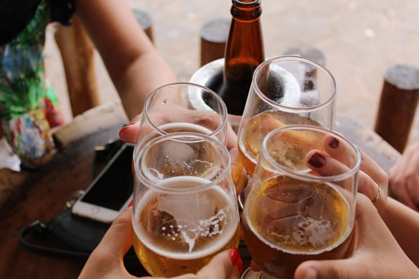 Binge drinking is defined as having at least four standard drinks for women and at least five standard drinks for men within a two-hour period.
